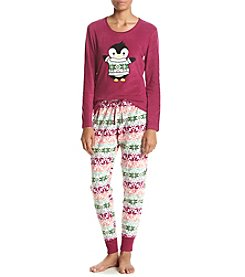 PJ Couture® Animal Pajama And Mask Set