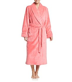 Jasmine Rose® Fleece Wrap Robe