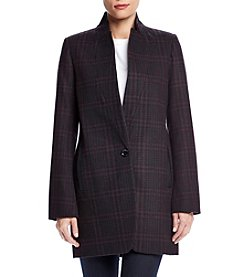 MICHAEL Michael Kors® Plaid Boyfriend Coat