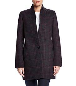 MICHAEL Michael Kors® Plaid Boyfriend Coat