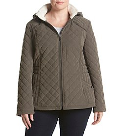 Laundry by Design® Plus Size Cord Piping Trim Jacket