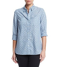 Le Tigre Chambray Dot Shirt