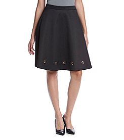 Relativity® Skirt With Gold Grommets