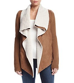 Ruff Hewn Faux Sherpa Fly Away Cardigan