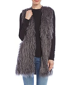 Jones New York® Faux Fur Sweater Vest