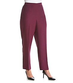 Alfred Dunner® Plus Size Veneto Valley Proportioned Medium Pants