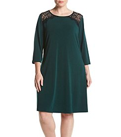 Lennie Plus Size Lace Swing Dress