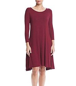 Lennie Scoop Neck Trapeze Dress