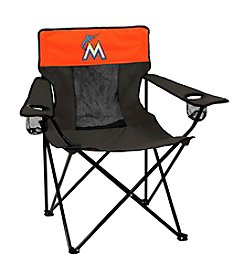 MLB® Miami Marlins Folding Elite Chair