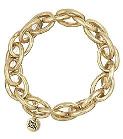 The Sak® Goldtone Link Stretch Bracelet