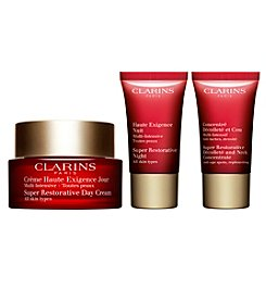 Clarins Super Restorative 24/7 Non-Stop Trio (A $133 Value)