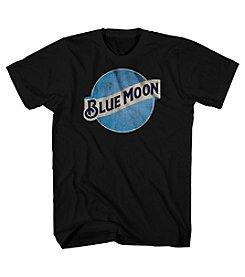 Mad Engine Men's Blue Moon Short Sleeve Graphic Tee