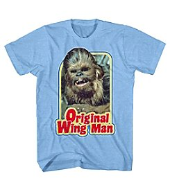 Mad Engine Men's Chewbacca Furry Flyer Short Sleeve Graphic Tee