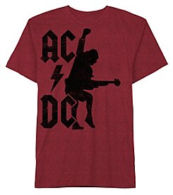 Hybrid™ Men's ACDC Angus Rocket Short Sleeve Graphic Tee