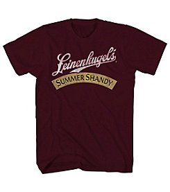 Mad Engine Men's Short Sleeve Leinenkugel Summer Shandy Graphic Tee