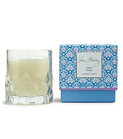 Vera Bradley® Cotton Flower Scented Candle In Glass