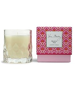Vera Bradley® Macaroon Rose Scented Candle In Glass