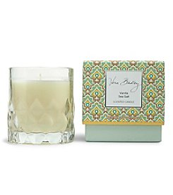 Vera Bradley® Vanilla Sea Salt Scented Candle In Glass