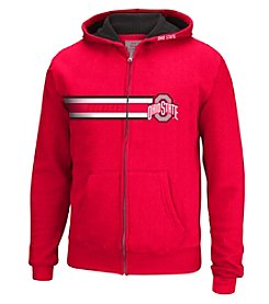 J. America® Boys' 8-20 NCAA® Ohio State University Hands Down Full Zip Hoodie