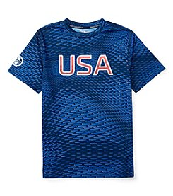 Polo Sport® Boys' 8-20 Short Sleeve USA Tee