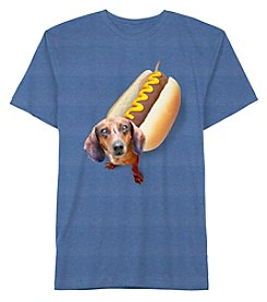 Jem® Boys' 8-20 Short Sleeve Weiner Dog Tee
