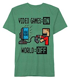 Jem® Boys' 8-20 Short Sleeve Video Games On Tee