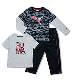 PUMA® Boys' 2T-4T 3-Piece Slider Set