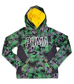 PUMA® Boys' 4-7 Camo Pullover Hoodie