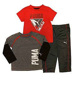 PUMA® Boys' 2T-4T 3-Piece Time To Play Set