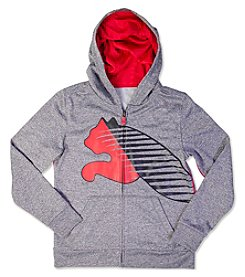 PUMA® Boys' 4-7 Big Cat Full-Zip Hoodie