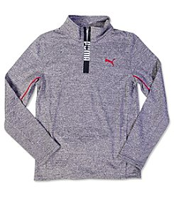 PUMA® Boys' 4-20 1/4 Zip Pullover