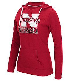 adidas® NCAA® University Of Nebraska Women's Vertical Graphic Hoodie