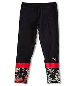 PUMA® Girls' 7-16 Printed Capri Leggings