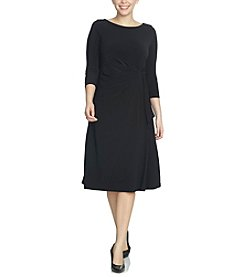 Chaus Side Tie Dress