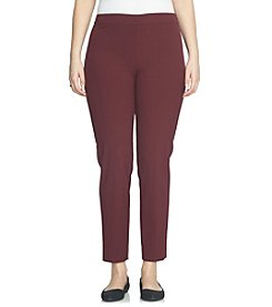 Chaus Courtney Side Zip Pants
