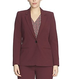 Chaus One Button Blazer