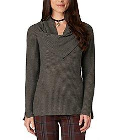 Democracy Waffle Sweater