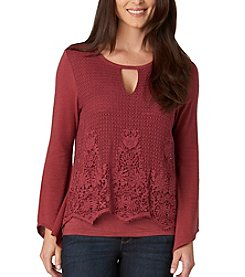 Democracy Crochet Overlay Top