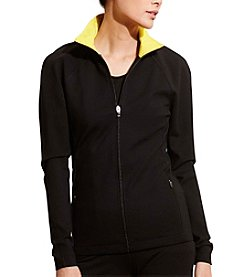 Lauren Active® Ponte Mockneck Jacket