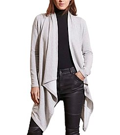 Lauren Active® Open-Front Cardigan