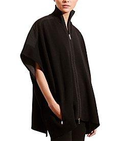 Lauren Active® Cotton-Blend Poncho