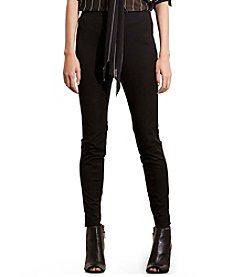 Lauren Active® Petites' Stretch Cotton Skinny Pants