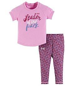 Under Armour® Baby Girls' 2-Piece Leader Of The Pack Tee Set
