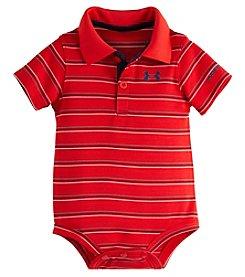 Under Armour® Baby Boys Striped Polo Bodysuit