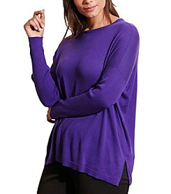 Lauren Ralph Lauren® Plus Size Relaxed Silk-Blend Sweater