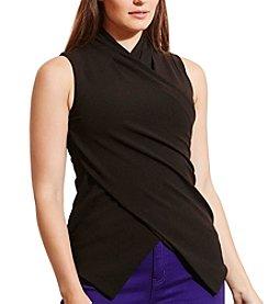 Lauren Ralph Lauren® Plus Size Jersey Surplice Top