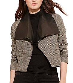 Lauren Ralph Lauren® Plus Size Glen Plaid Wool Jacket