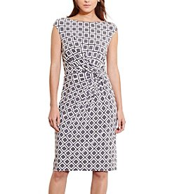 Lauren Ralph Lauren® Geometric-Print Jersey Dress