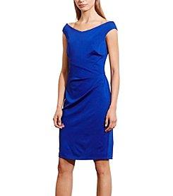 Lauren Ralph Lauren® Jersey Off-The-Shoulder Dress