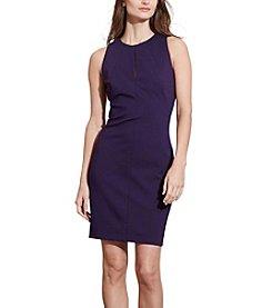 Lauren Ralph Lauren® Keyhole Ponte Sheath Dress